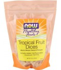 NOW Foods Tropical Fruit Mix Dices, Low Sugar, 1-Pound (Pack of 2)