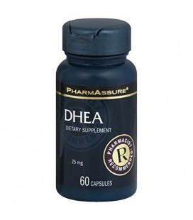 PharmAssure DHEA, 25 mg, gélules 60 capsules