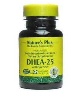 Nature Plus - Dhea-25, 25 mg, 60 capsules