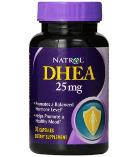 Natrol DHEA 25mg capsules, 30-Count