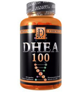 Dynamic Formules DHEA 100 de qualité pharmaceutique 100mg 90 capsules