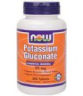 NOW Foods, POTASSIUM GLUCONATE 99mg 250 TABS