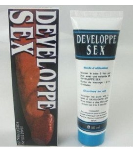 À base d'eau 50ml Developpe Silk Touch Lubrifiant produit Gel Penis Enlargement Cream Oil Sex