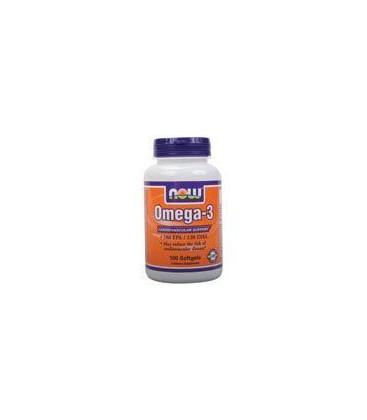 Now Omega-3 Cardiovasular Support 100 Gels
