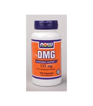 DMG 125 mg by Now Foods 100 Capsules