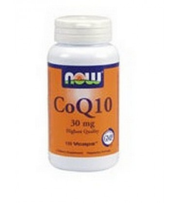 Now Foods Coq10 30mg, 120 Capsules