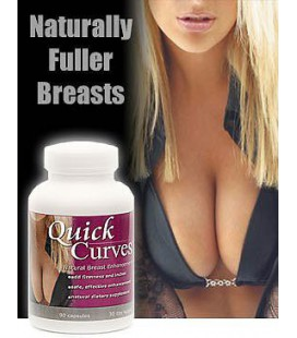 Courbes rapides Natural Breast Enhancement Pills Fuller naturel de l'élargissement du sein trois mois approvisionnement