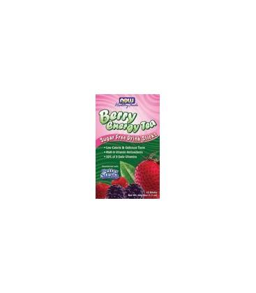 Berry Energy Tea Sugar Free Drink Sticks 1.7 Oz Sticks 12 Sticks-2 Pack