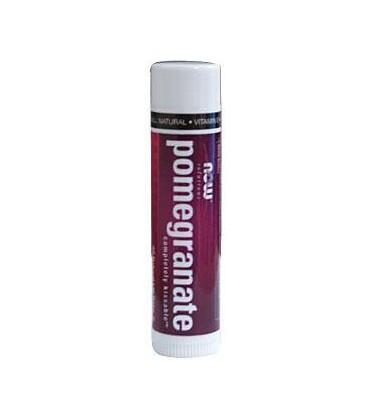 NOW Completely Kissable Lip Balm - Pomegranate (0.15 oz)