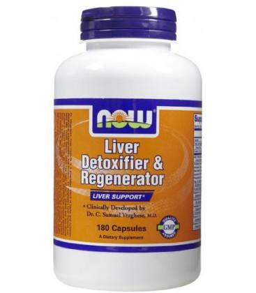 NOW Foods - Liver Detoxifier & Regenerator - 180 Capsules ( Multi-Pack)