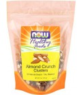 NOW Foods Almond Crunchy Clusters, 9 ounce (Pack of 2)