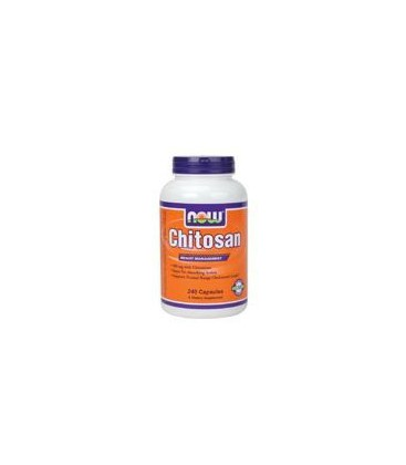 Now Foods Chitosan 500mg, 240 caps (Pack of 2)