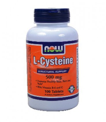 Now Foods Cysteine, 100 tablets / 500 mg ( Multi-Pack)