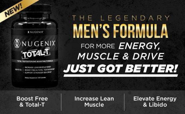 Total-T de Nugenix - Booster de testostérone